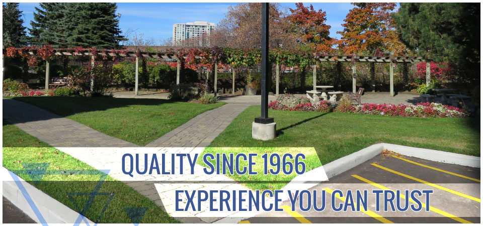 Quality since 1966. Experience you can trust. | landscaping and parking lot