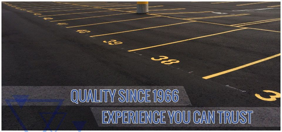 Quality since 1966. Experience you can trust. | freshly paved parking lot