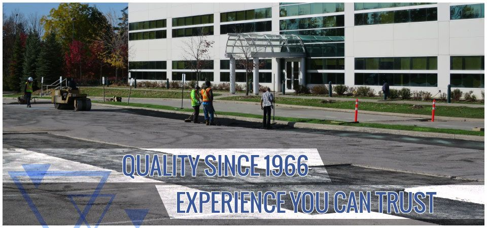 Quality since 1966. Experience you can trust. | working on paving