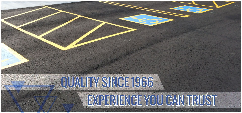 Quality since 1966. Experience you can trust. | paved lot