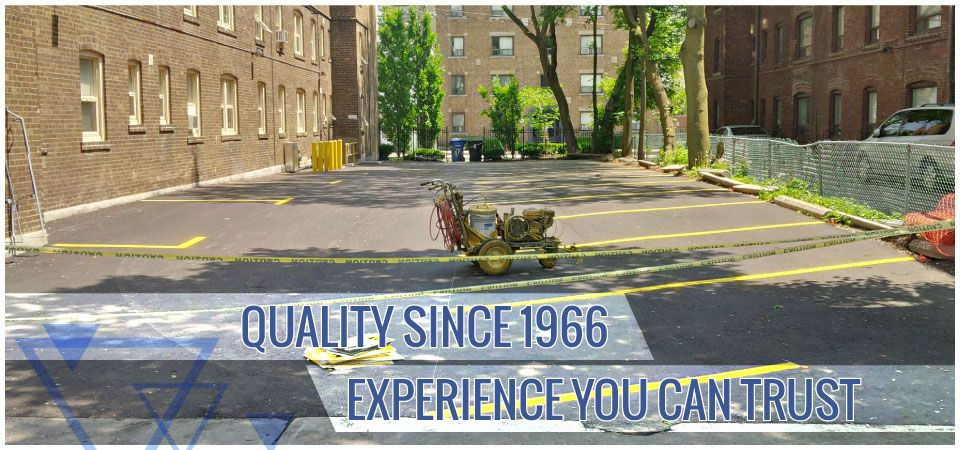 Quality since 1966. Experience you can trust. | Commercial parking lot